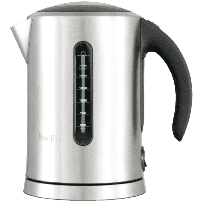 Breville - Soft Top Pure Kettle - Brushed Stainless Steel
